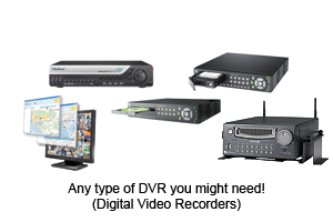 Surveillance DVR's for any need!